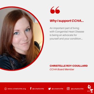 Board member Christelle