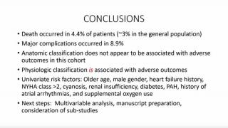 Conclusions from COVID-19 and CHD registry study