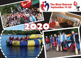 Beat Retreat postcard 2020