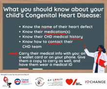 Tips for what parents need to know about their child's CHD