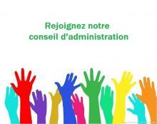 Rejoignez notre conseil d'administration